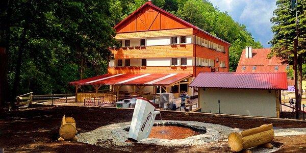 Letná aktívna dovolenka v novom Penzióne Svätopluk v prírodnom prostredí…