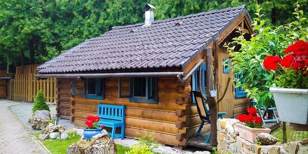 Dovolenka v prekrásnych zrubových domčekoch vo Vysokých Tatrách
