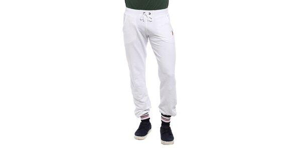 Pánske biele teplákové nohavice Cooperativa