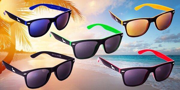 Originálne značkové okuliare Wayfarer proti slnku od českej značky Kašmir