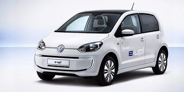 Prenájom ekologického elektromobilu Volkswagen E-Up až na týždeň!