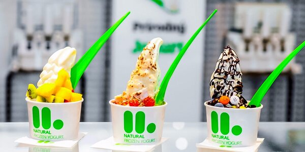 Mrazený jogurt - sladká radosť s chutnými llaollao dobrotami v Eurovea