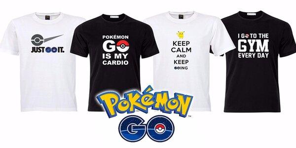 Fenomenálne tričká POKÉMON GO! Chytajte poké potvorky so štýlom!