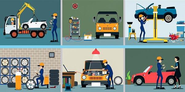 Technická a emisná kontrola pre osobné motorové vozidlá