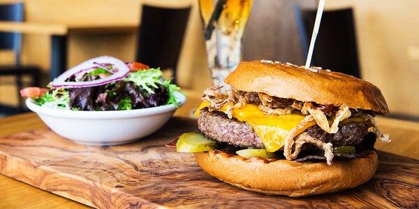 Americký home made burger - exkluzívna predpremiéra len pre Zľavomaťákov!