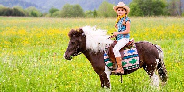8-dňový westernový jazdecký letný tábor pre deti od 7 do 15 rokov
