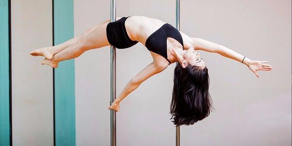 Pole dance tréningy pre krásne telo - vhodné pre začiatočníkov!