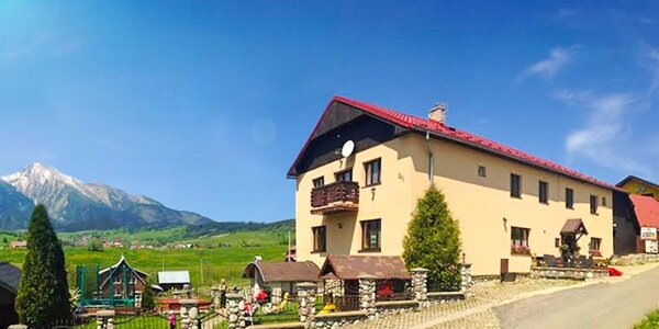 Rodinný pobyt pod Belianskymi Tatrami