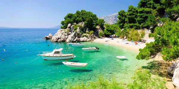 Dovolenka na Makarskej v Chorvátsku - až 10 dní!
