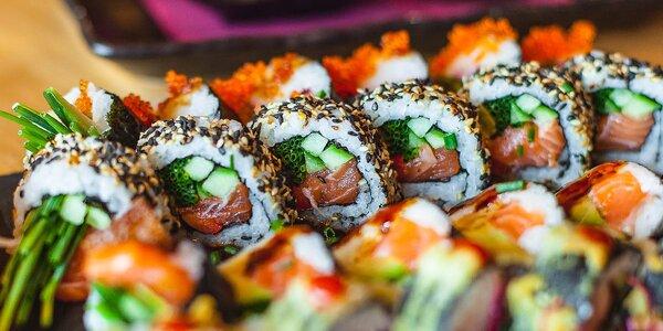 Ochutnajte 36 ks poctivého sushi z rýb s príchuťou pravého Japonska!