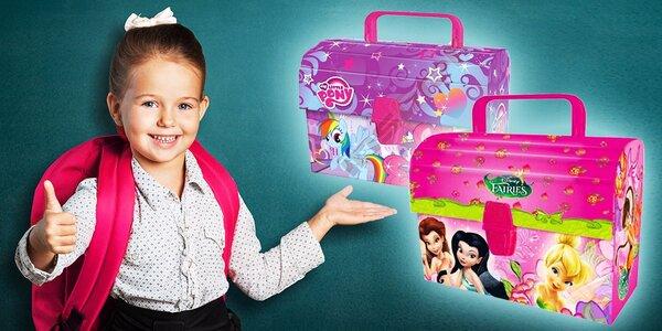 Detské kufríky My Little Pony alebo Fairies pre všetky mladé dámy