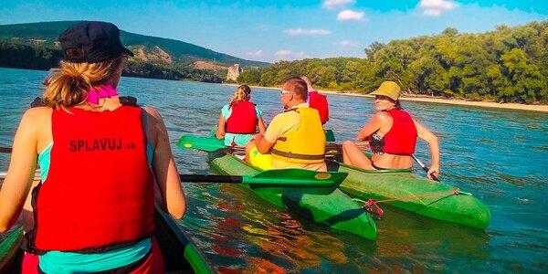Zážitkový splav rieky Dunaj z Hainburgu do Bratislavy