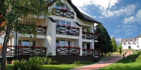 Wellness pobyt vo Vysokých Tatrách