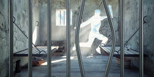 Adrenalínová escape hra Divná basa - dostaňte sa z cely von!
