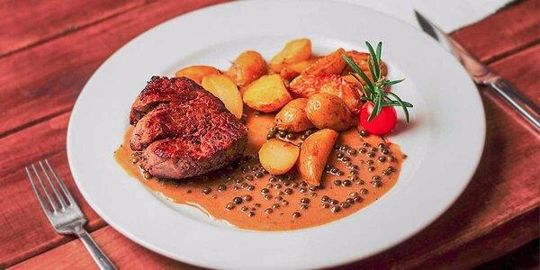 3 druhy hviezdnych hovädzích steakov v Modrej Hviezde