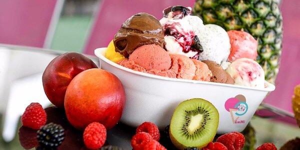 Výborná zmrzlina z čerstvého domáceho ovocia. Každý deň na výber až 20 druhov!…