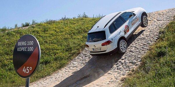 Vyskúšajte si úplne nový Volkswagen Touareg na jedinečnej offroadovej trati