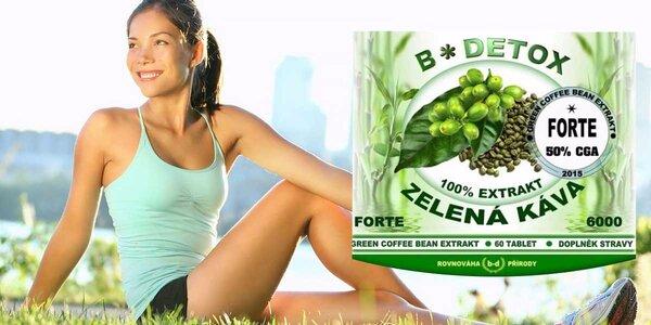 Green Coffee Bean extrakt 6000 - účinné tabletky na chudnutie