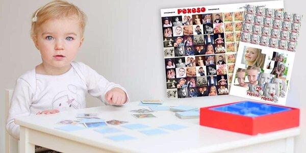 Originálne pexeso s vlastnými fotografiami - krásny darček!
