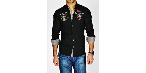 Efektná pánska košeľa Pontto