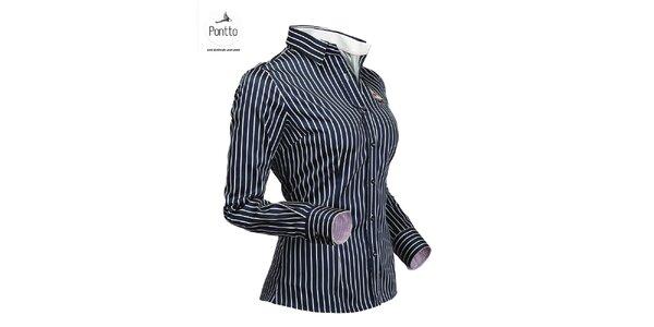 Luxusná trendy košeľa Pontto
