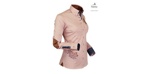 Jachtárska trendy košeľa Pontto