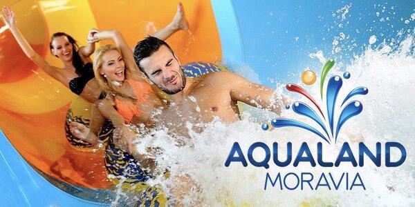Celodenná zábava v Aqualand Moravia: na výber balíčky s wellness a limonádou