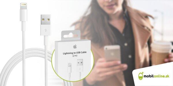Originálne dátové káble pre váš iPhone - certifikované spoločnosťou Apple!