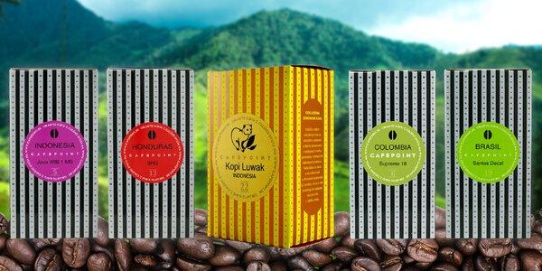 Luxusné svetové kávy prémiovej kvality z Cafepoint