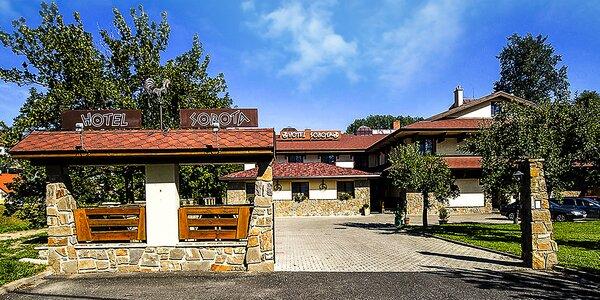 Jesenný pobyt v Hoteli Sobota s polpenziou a 20% zľavou do Aquacity Poprad