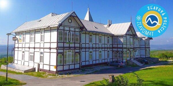 Skvelá dovolenka v Hoteli Palace Tivoli*** Vysoké Tatry