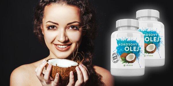 Kokosový olej v kapsuliach s blahodarnými účinkami na zdravie