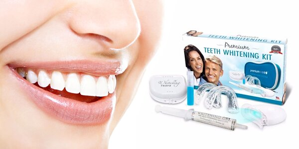 Profesionálna súprava na bielenie zubov Prémium