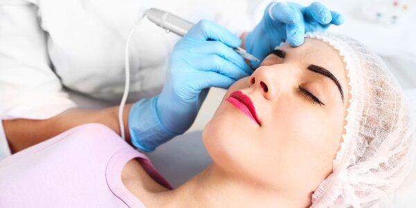 Permanentný make-up čepieľkovou metódou