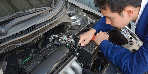 Servisná prehliadka a dezinfekcia auta ozónom