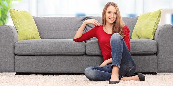 Hĺbkove tepovanie sedačiek, kresiel a kobercov u vás doma