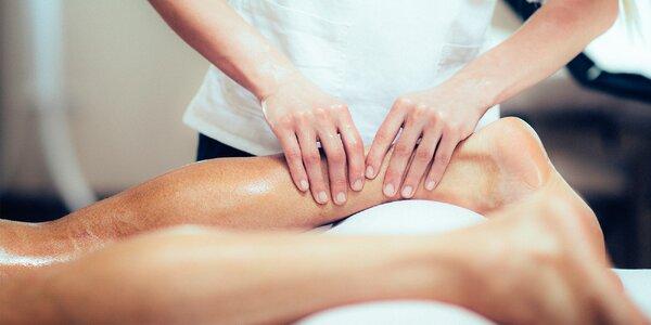 Klasická masáž s výberom masírovanej oblasti
