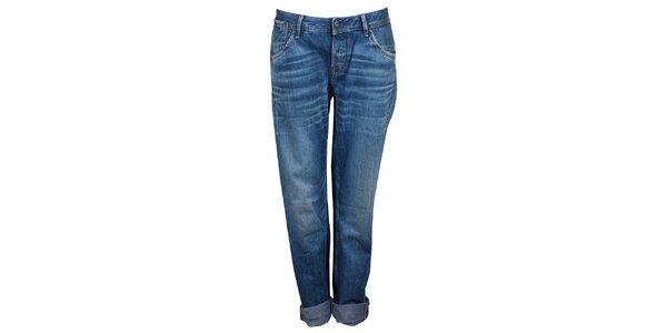 Dámske modré boyfriend džínsy Pepe Jeans