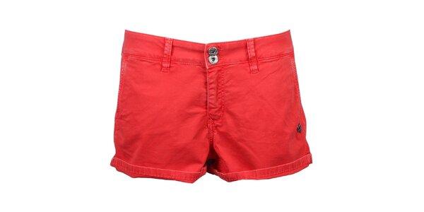 Dámske červené kraťasy Pepe Jeans