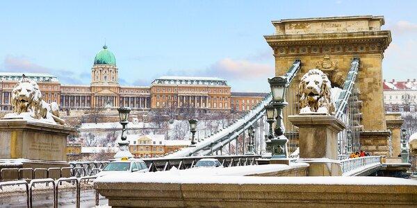 Na povianočné výpredaje do zimnej Budapešti!