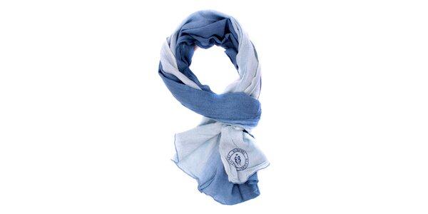 Dámska modrá šatka Bleifrei