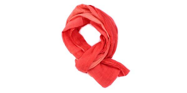 Dámska červená šatka Bleifrei