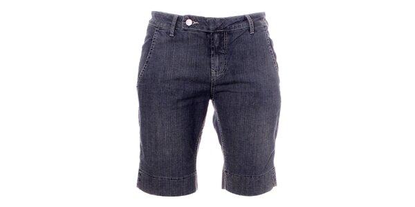 Dámske šedo-modré džínsové kraťasy Bleifrei