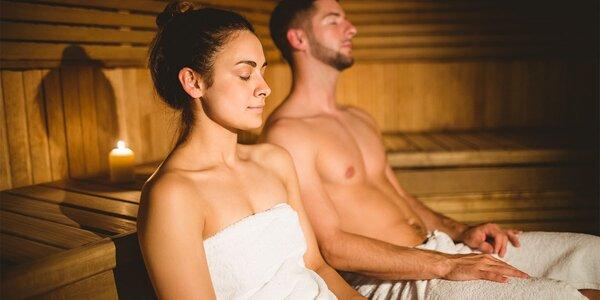 Privátna fínska sauna pre dvoch s nápojom - aj permanentka!