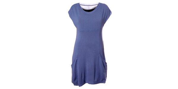 Dámske svetlo modré šaty Bleifrei