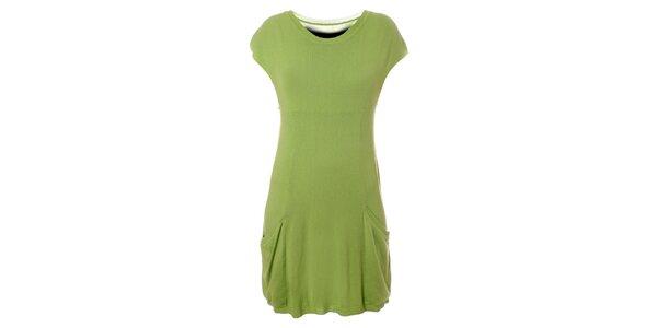 Dámske svetlo zelené šaty Bleifrei