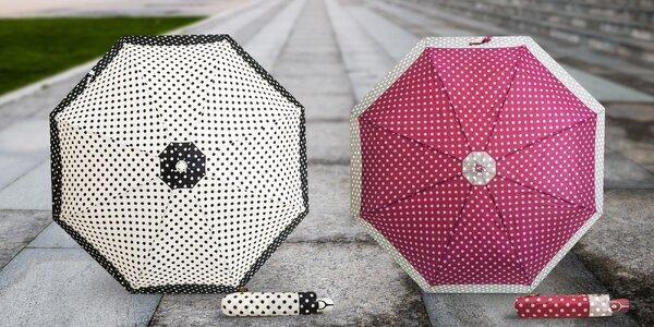 Bodkované automatické dáždniky RealSTar