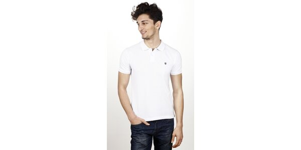 Pánske biele polo tričko Hackett