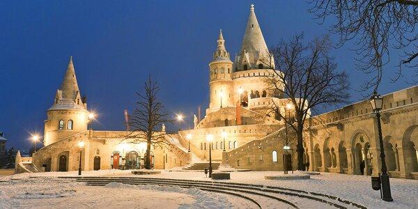 Čarovný Advent v Budapešti: 2-dňový poznávací zájazd aj s hotelovým ubytovaním
