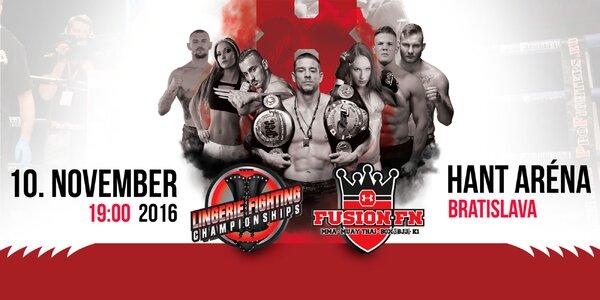 Vstupenka na večer bojových športov - Fusion Fight Night 8 v Bratislave!